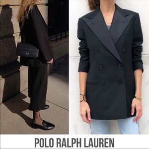 Ralph Lauren wool double breasted blazer